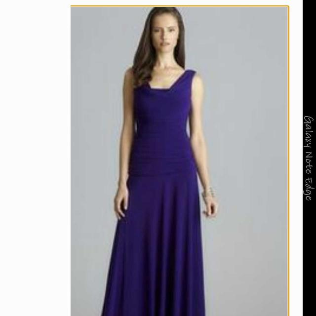 Find more Nightway Evening Gown In Navy Color for sale at up to 90% off
