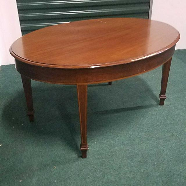 High Oval Coffee Table: Best Solid Wood Oval Coffee Table 36 In Long, 28 In Wide