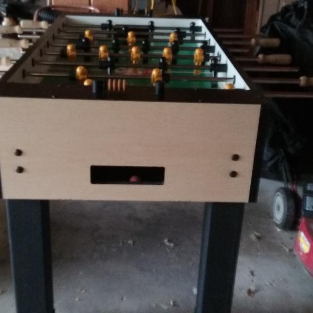 Gently Used Tornado Whirlwind Foosball Table Mint Condition
