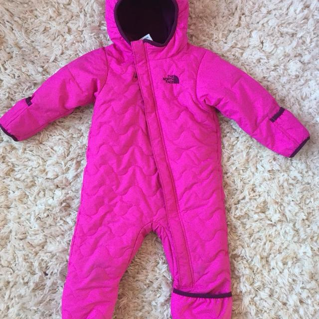 14f7f6cfd Find more North Face One Piece Snowsuit. 12-18 Months. Feet And ...