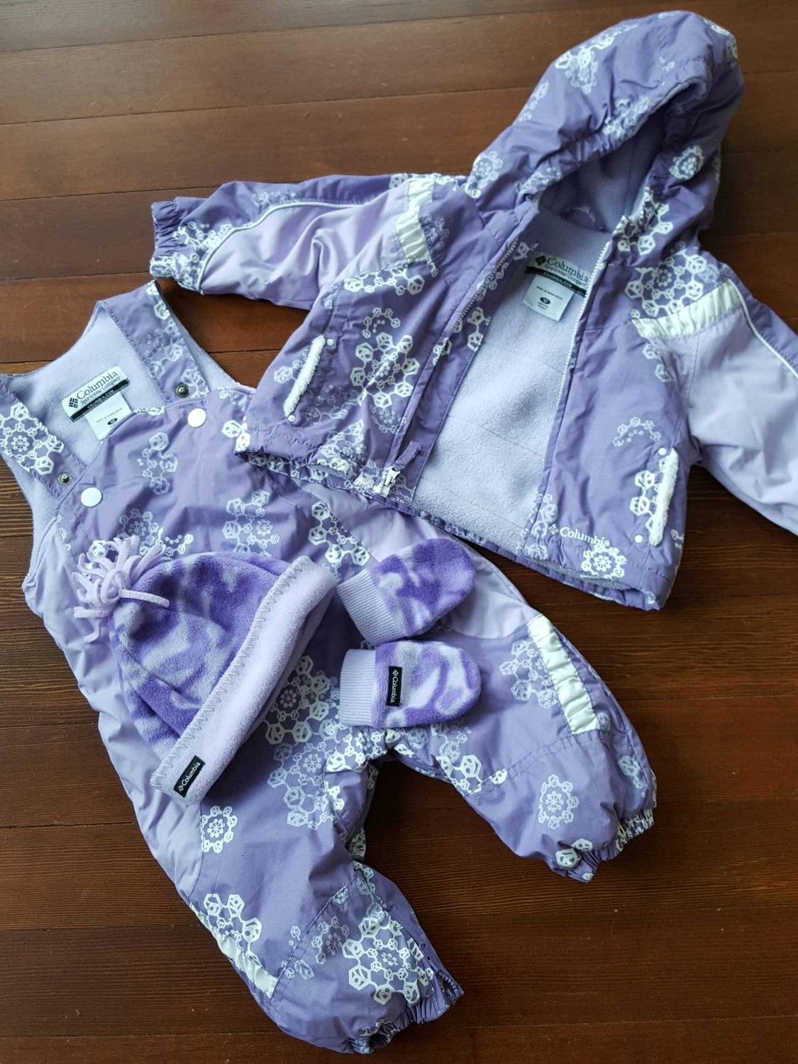 faeab832ad84 Find more 12 Month Girl Columbia Snowsuit - Snow Pants