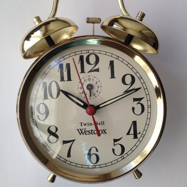 Find More Vintage Westclox Alarm Twin Bell Clock Mechanical Keeps