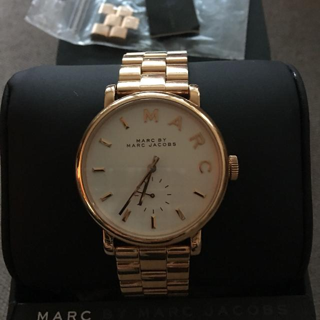 Find More Bnwt Marc By Marc Jacobs Baker Watch Rose Gold With
