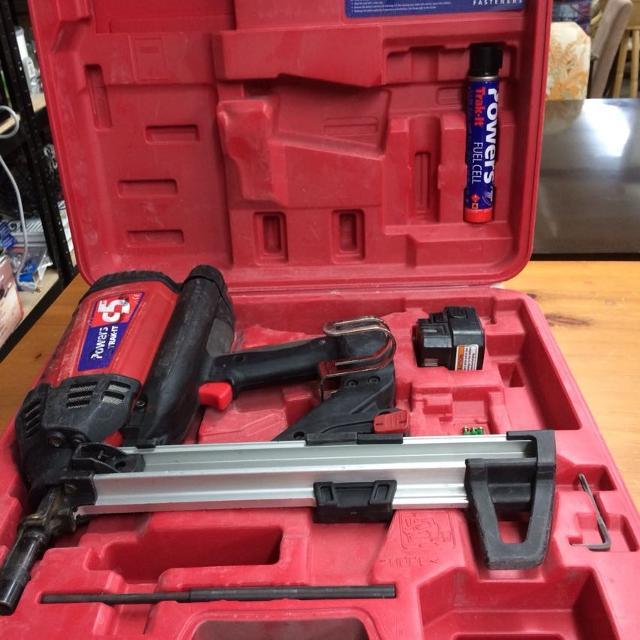 Track fast propane/battery gun 50% price drop for fast sale!!!