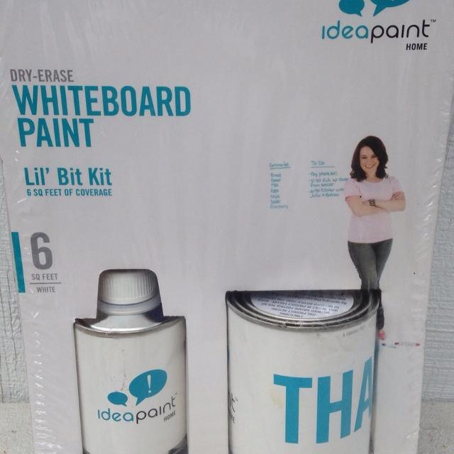 Find More Idea Paint White Gloss Dry Erase Paint 6 Sq Feet White Board New For Sale At Up To 90 Off