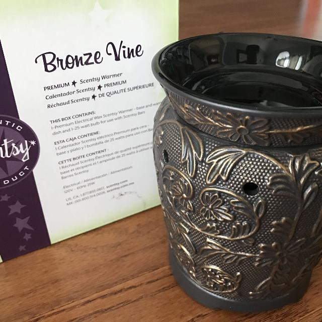 Best Reducedbrand New Scentsy Warmer Bronze Vine For Sale