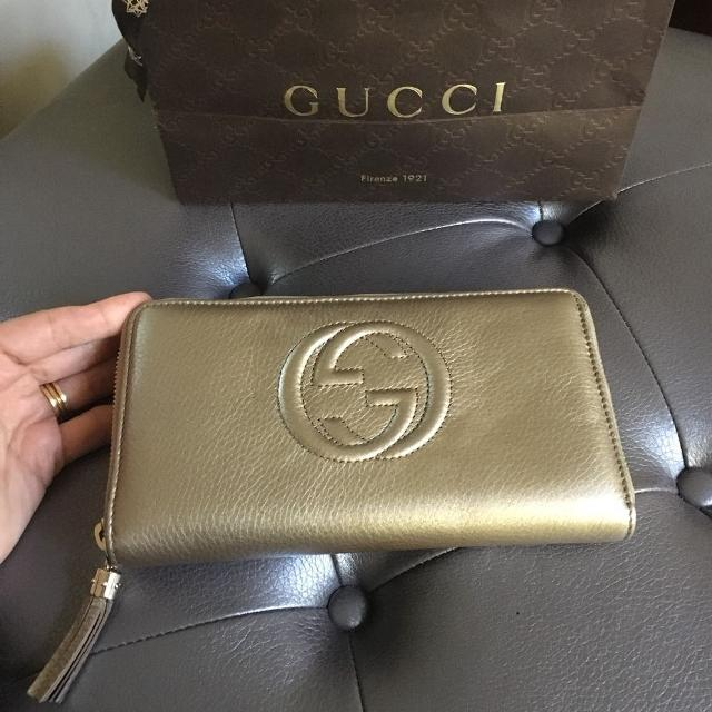 a14fc299d6f Find more Gucci Soho Wallet 100% Authentic / Chanel Prada Dior Louis ...