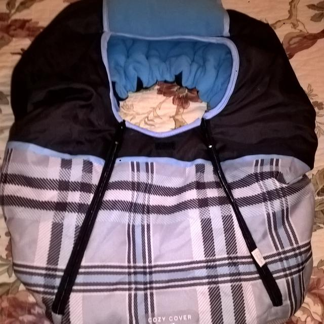 Cozy Cover For Infant Car Seat Final Reduction