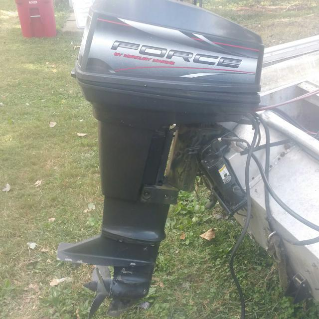 50hp force boat outboard motor