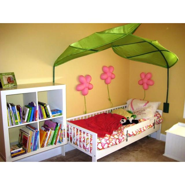 Find More 2 Of Ikea Lova Bed Canopy Green Leaf For Sale