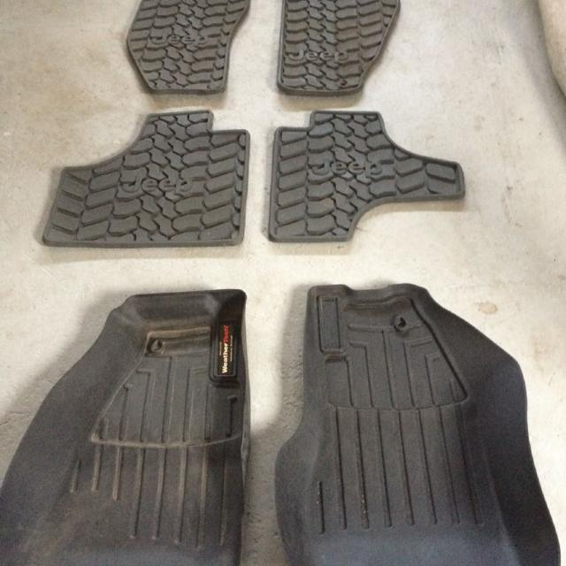 Weathertech Laser Cut Winter Car Mats For Jeep Liberty