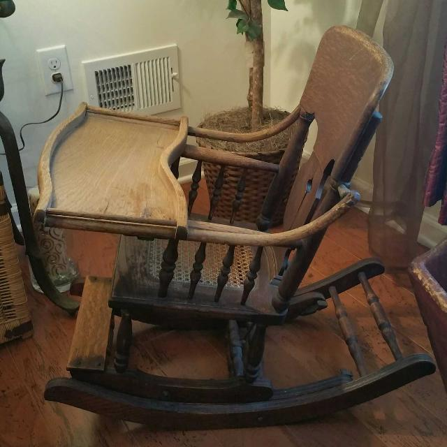 Antique High Chair/Rocker - Find More Antique High Chair/rocker For Sale At Up To 90% Off