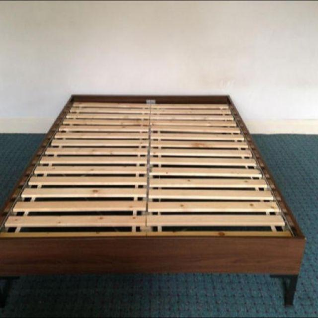 Ikea Engan Full Bed Frame With Slates