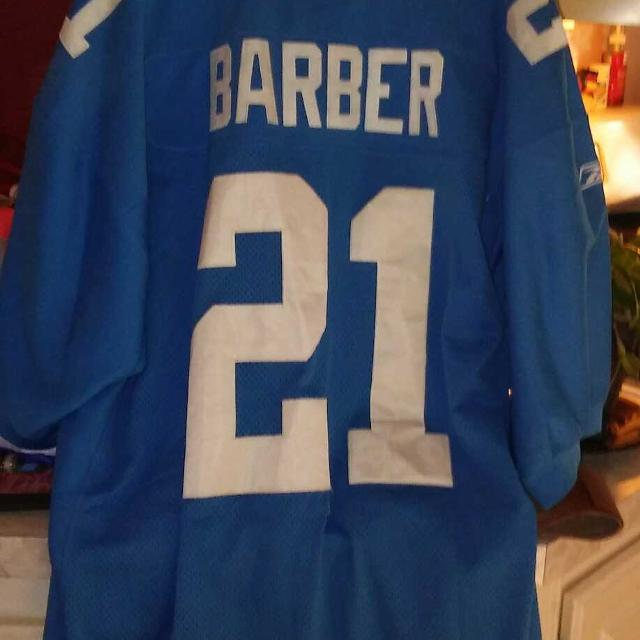 best loved 7d474 f5c77 New york giants Tiki barber throwback jersey