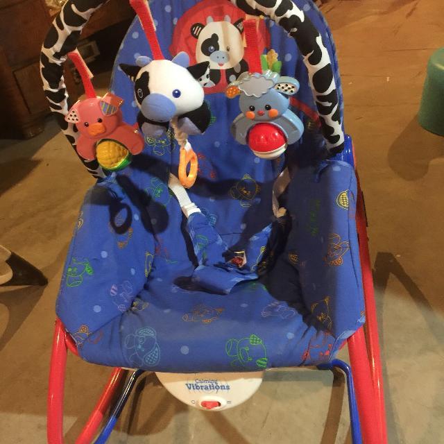 Fisher Price Infant To Toddler Farm Animal Rocker Seat