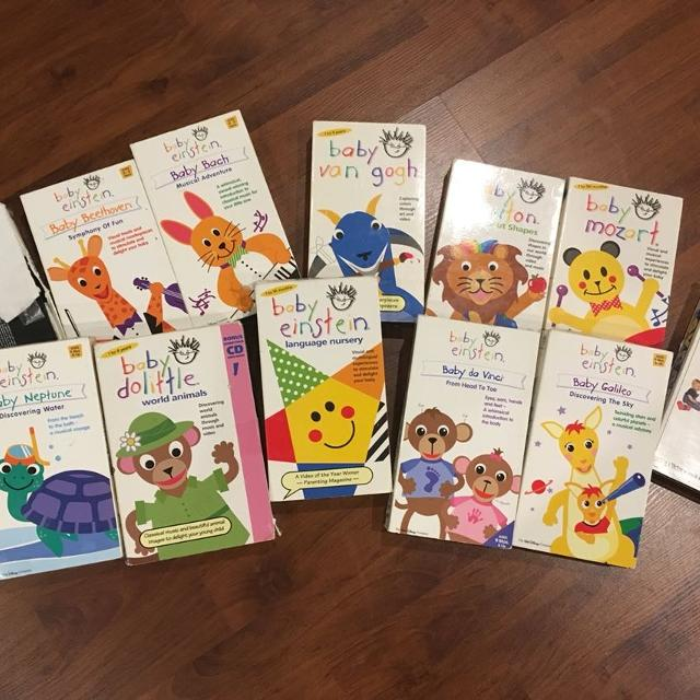 Find More Baby Einstein Collection Of Vhs Movies For Sale