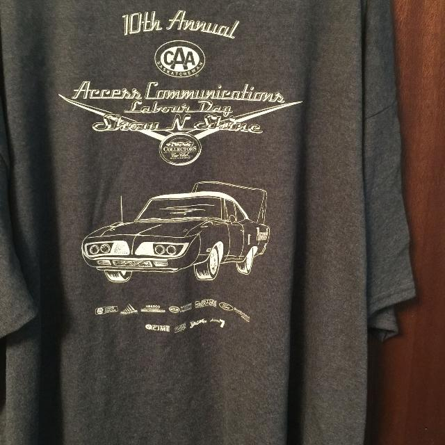 Best Car Show Shirt Xl Back Shown St For Sale - Car show t shirts for sale