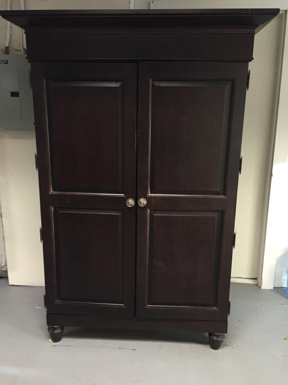 Best Armoire Broyhill Charlestowne Square For Sale In