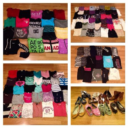 Enormous 200 Piece Brand Name Women's... for sale  Canada