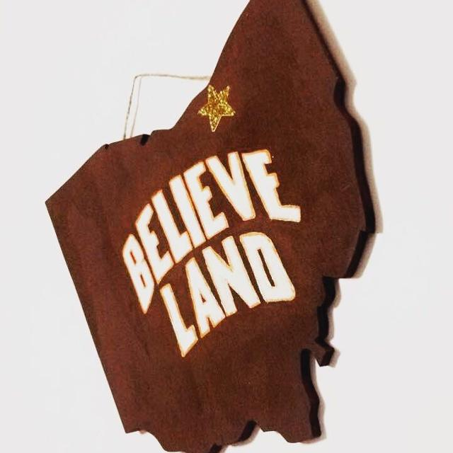 Best Cleveland Believeland Ohio Sign For Sale In Killeen