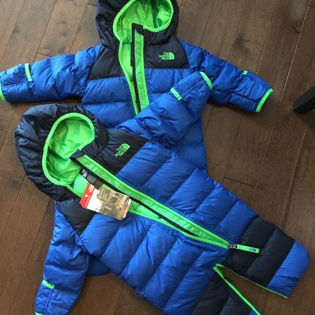 96d3a5cc3d95 Best The North Face Infant Lil  Snuggler Down Bunting Suits for sale ...