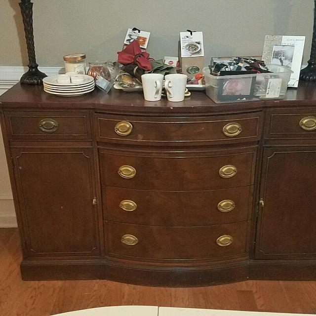 Best Landstrom Furniture Co Antique Buffet Table For In Canton Georgia 2019