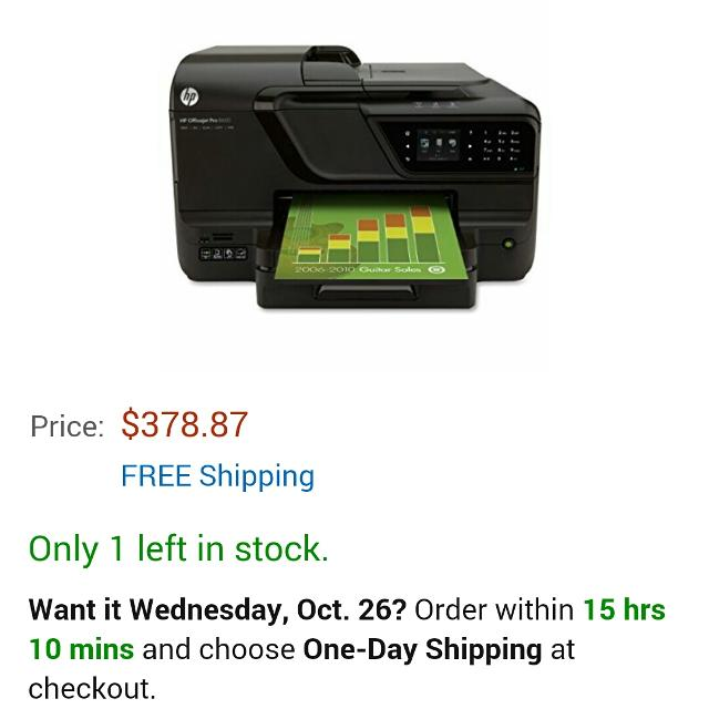 Best Hp Officejet Pro 8600 E All In One Printer N911a For Sale In