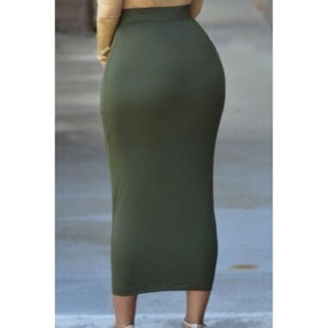 2a81e4de8 Best Olive Green Midi Pencil Skirt for sale in University (Orange County),  Florida for 2019