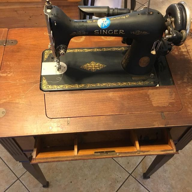 Best Antique Singer Sewing Machine For Sale In Panama City Florida Extraordinary Vintage Singer Sewing Machine For Sale