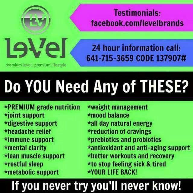 Thrive Le Vel In Citronelle Alabama For 2019