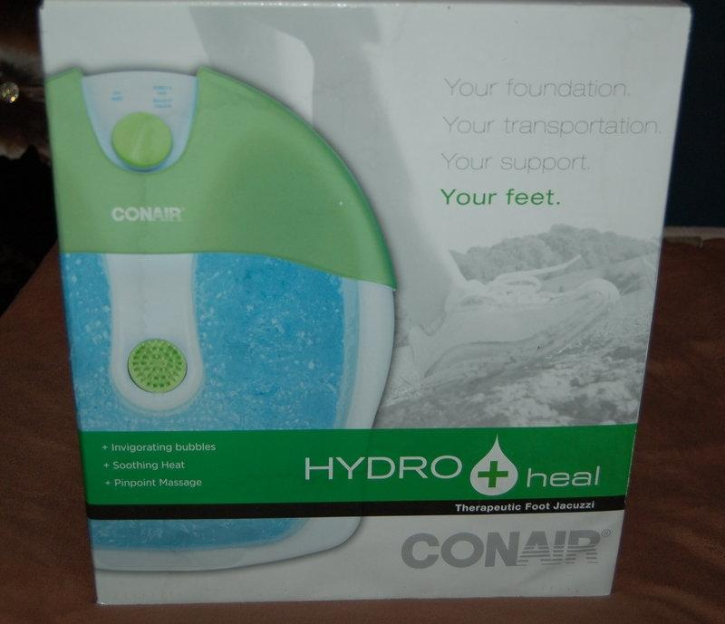 Find more Conair Hydro Heal Therapeutic Foot Jacuzzi for sale at up ...