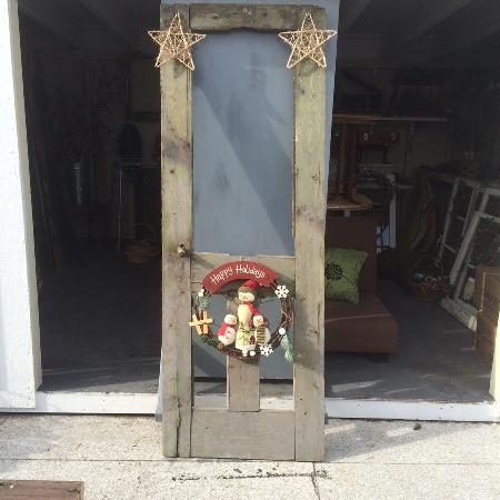 Barn Xmas decorative door for sale  Canada
