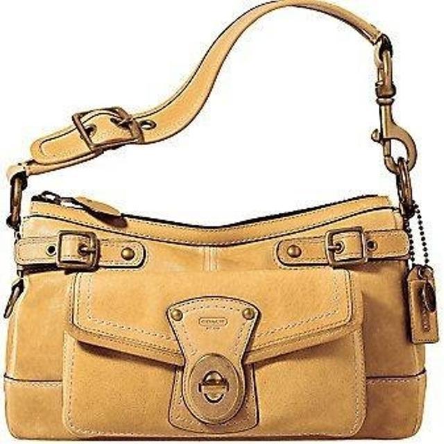 Camel Vachetta Leather Handbag