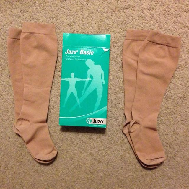 f09b487097 Find more Juzo Basic Compression Stockings for sale at up to 90% off