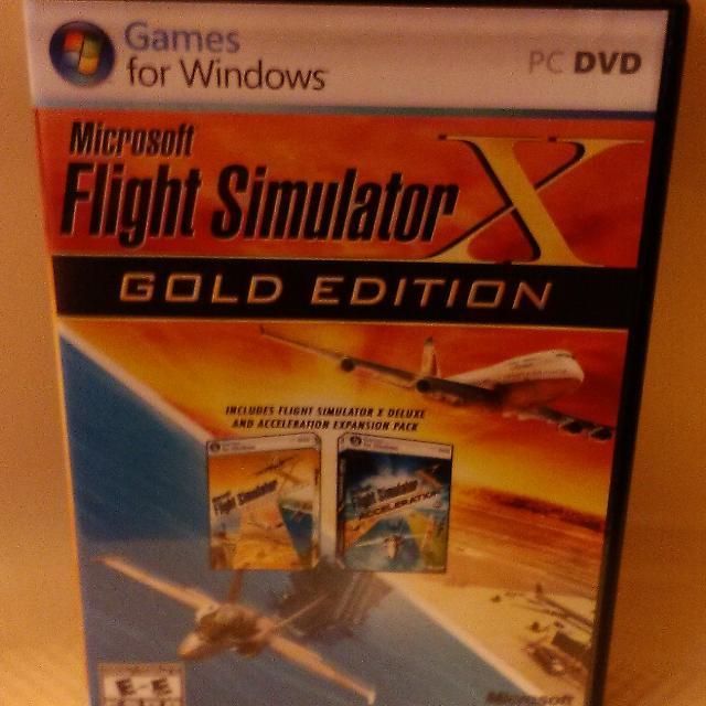 microsoft flight simulator x gold edition installation