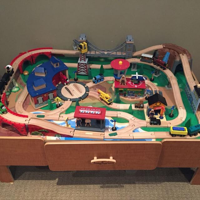 Find more Imaginarium Train Table And Thomas Train Sets for sale at ...