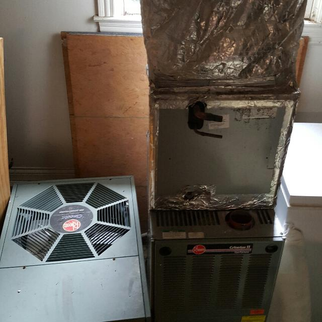 HVAC unit natural gas and R22 freon $200 OBO
