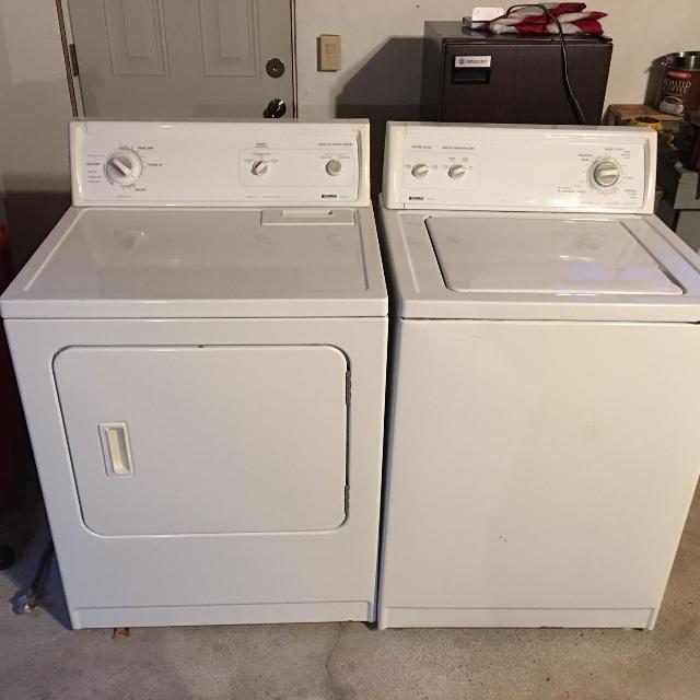Washer And Dryer Set Kenmore 70 Series