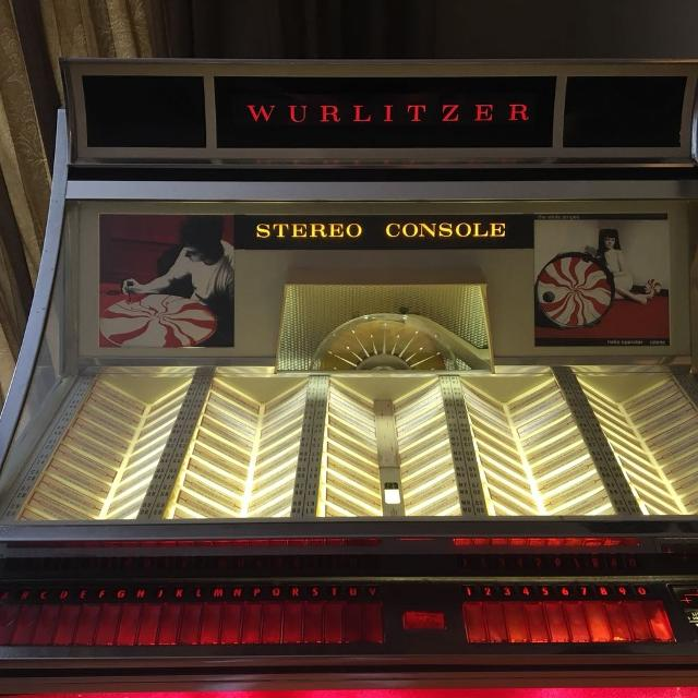 1966 Wurlitzer 3000 jukebox