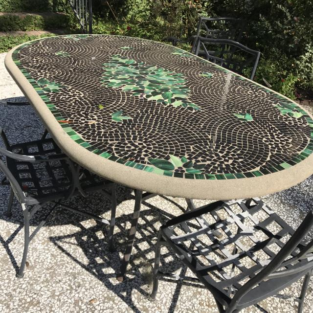 Best Mosaic Patio Table For In