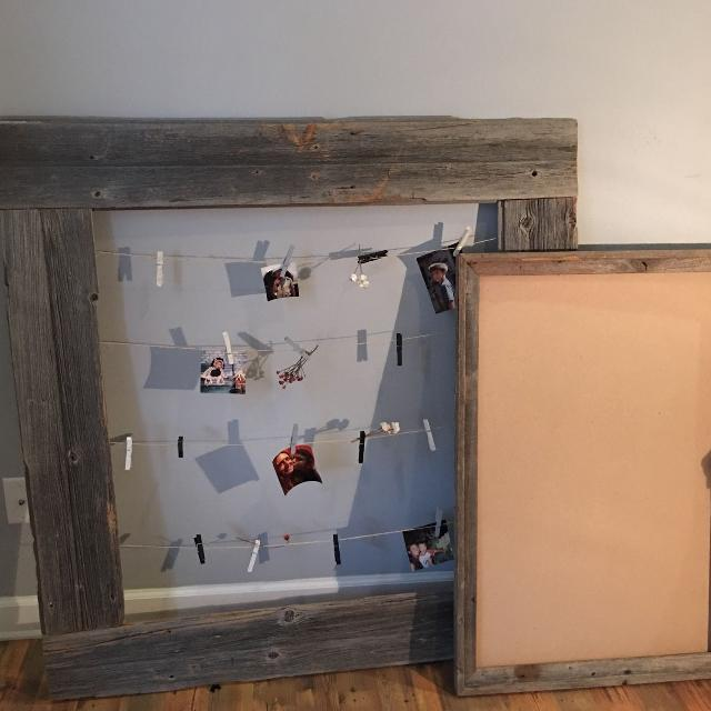 Find More Very Large Real Barn Wood Rustic Picture Frame With Twine