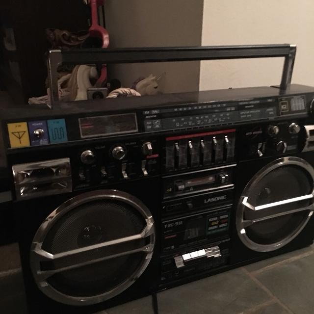Image result for 80s boombox