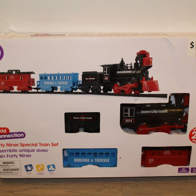 Kid Connection Battery Operated Forty Niner Special Train Set