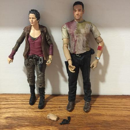 The Walking Dead Action Figures... for sale  Canada
