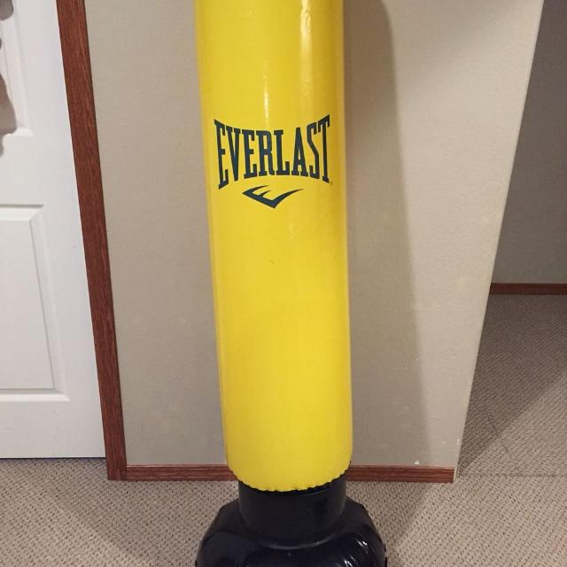 Everlast Inflatable Punching Bag
