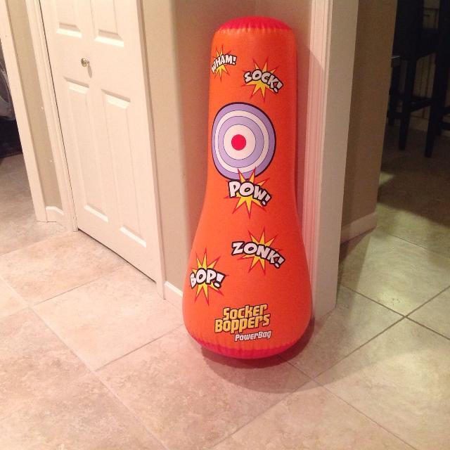 Socker Boppers Power Bag: Find More Socker Boppers Power Bag-kids Punching Bag