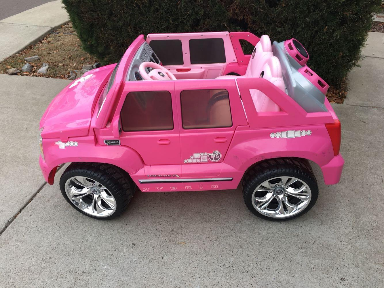 find more power wheels barbie cadillac escalade 12 volt powered ride on for sale at up to 90 off power wheels barbie cadillac escalade 12 volt powered ride on