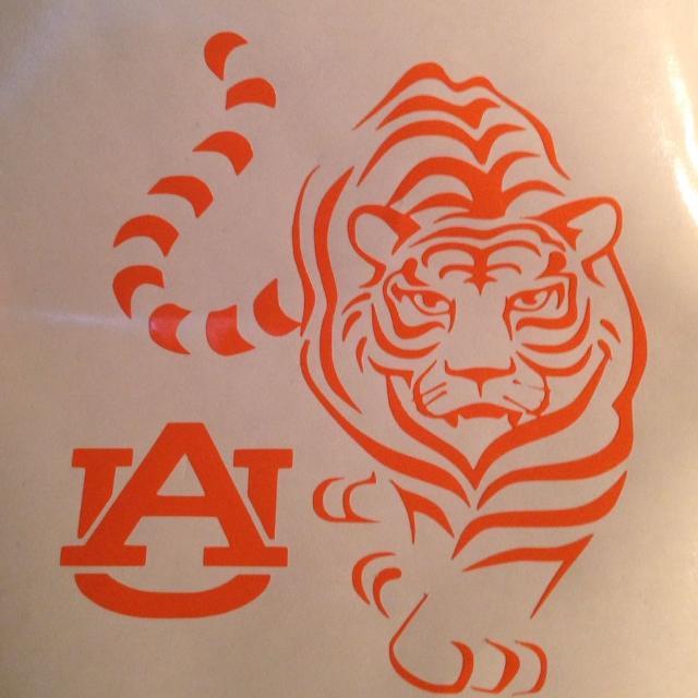 a3f4944ba3f Best Auburn Tiger Vinyl Decal for sale in McDonough