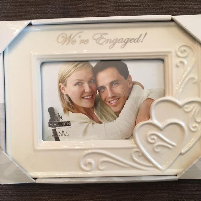 Best Nib Were Engaged Photo Frame For Sale In Quincy