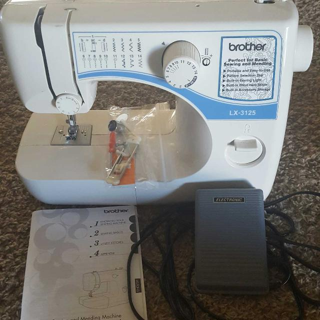 Find More Brother Lx 40 Sewing Machine For Sale At Up To 40% Off Cool Brother Sewing Machine Lx3125